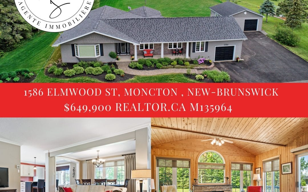 House for Sale Moncton – Maison à vendre à Moncton